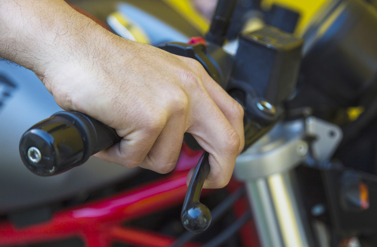 Motorradhandgriff ohne Phthalate