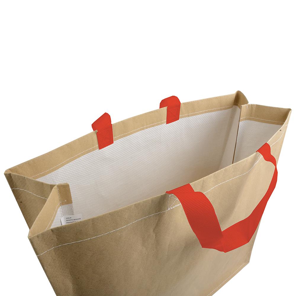 Einkaufstasche aus Papier Phthalatefrei für Lebensmittel