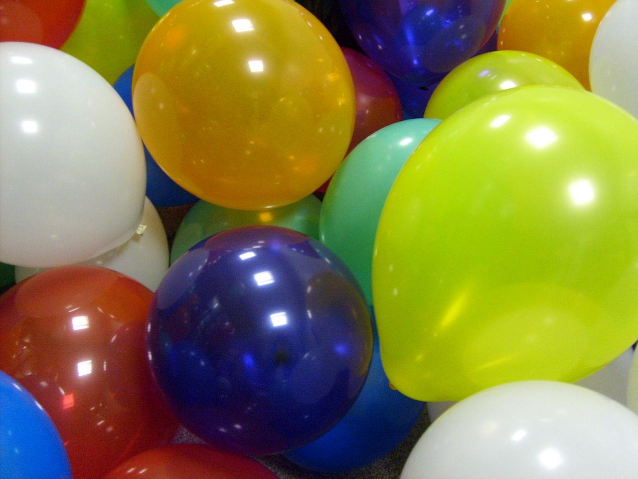 Umweltfreundliche Luftballons